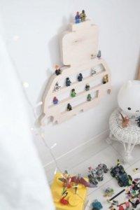Półka dziecięca na figurki LEGO