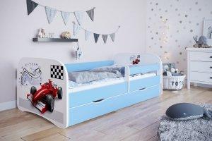 Łóżko dziecięce FORMUŁA 140x70 cm różne kolory