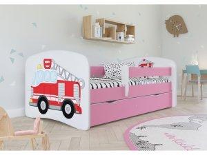 Łóżko dziecięce STRAŻ POŻARNA różne kolory 180x80 cm