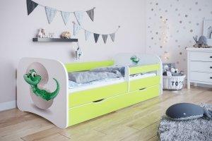 Łóżko dziecięce MAŁY DINO różne kolory 160x80 cm