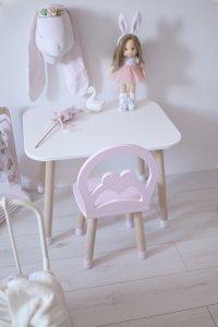 Krzesełko dziecięce styl retro