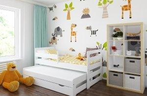 Łóżko podwójne FILIPPO z szufladą