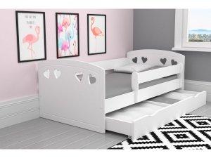 Łóżko dziecięce JULIA 160x80 białe