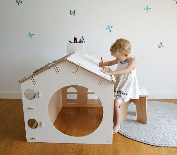 Biurko dziecięce DOMEK