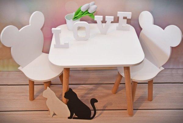 Krzesełko dziecięce myszka
