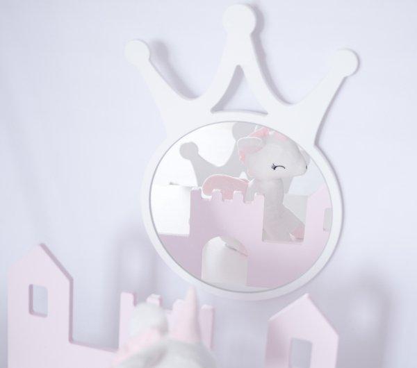 Lustro dla dziecka korona