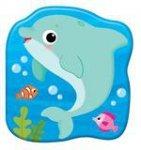 Książeczki kąpielowe: Delfin Plum