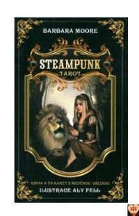 Steampunk Tarot wersja po czesku, instr.pl