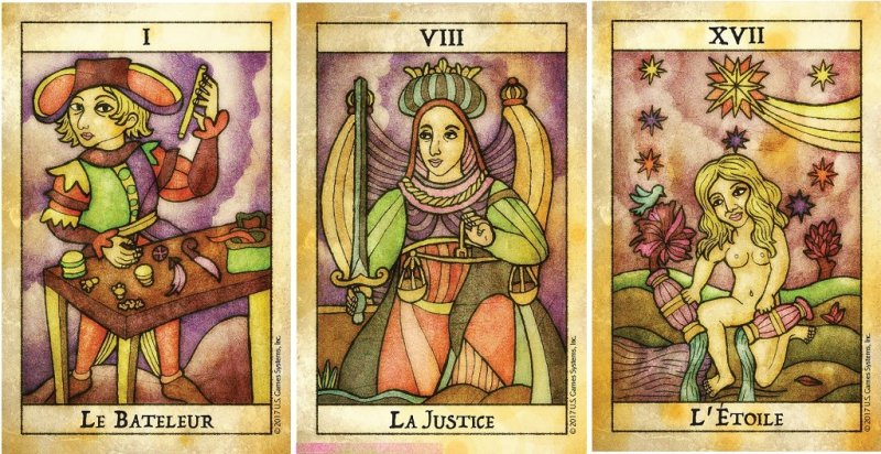 Tarot de Maria Celia, w puszce