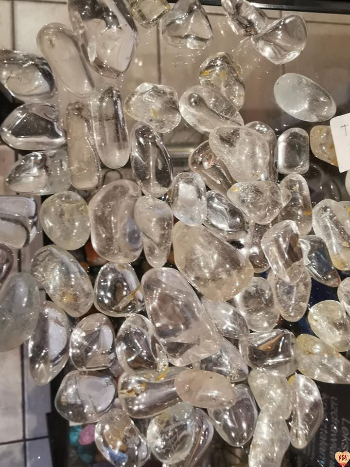 Topaz szlifowany kryształowy