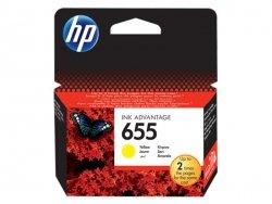 Tusz HP 655 Yellow Ink Advantage CZ112AE