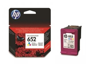 Tusz HP 652 Color Ink Advantage F6V24AE