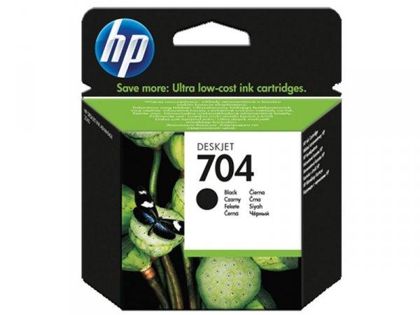 Tusz HP 704 Black CN692AE