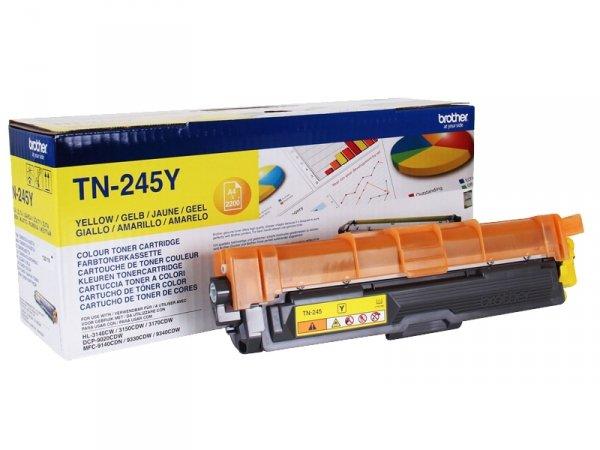 Toner Brother TN-245Y Oryginalny Yellow