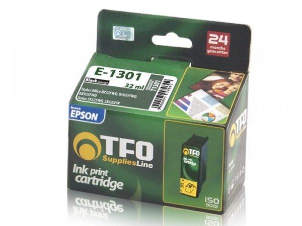 Tusz TFO E-1301 czarny zamiennik do Epson T1301 Black