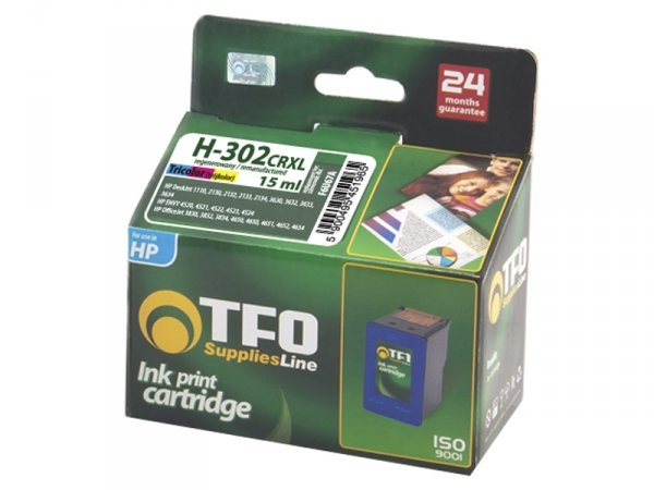 Tusz TFO H-302CRXL zamiennik do HP 302 Color XL F6U67A