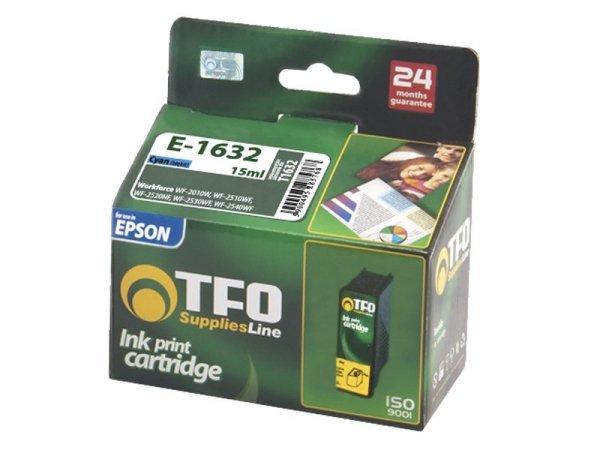 Tusz TFO E-1632 zamiennik do Epson 16 XL Cyan T1632
