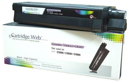 Toner Cartridge Web Black OKI C5650 zamiennik 43865708