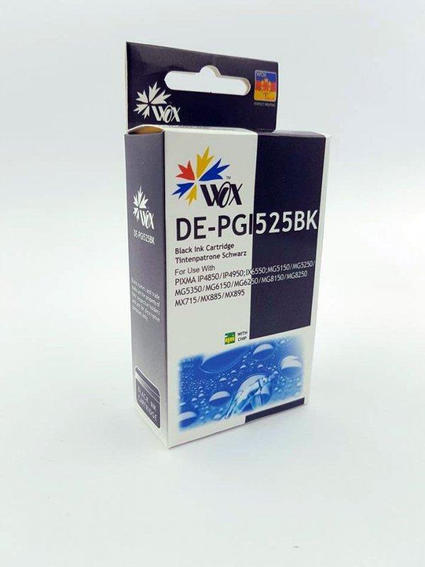 Tusz Wox Black CANON PGI 525BK zamiennik PGI525BK