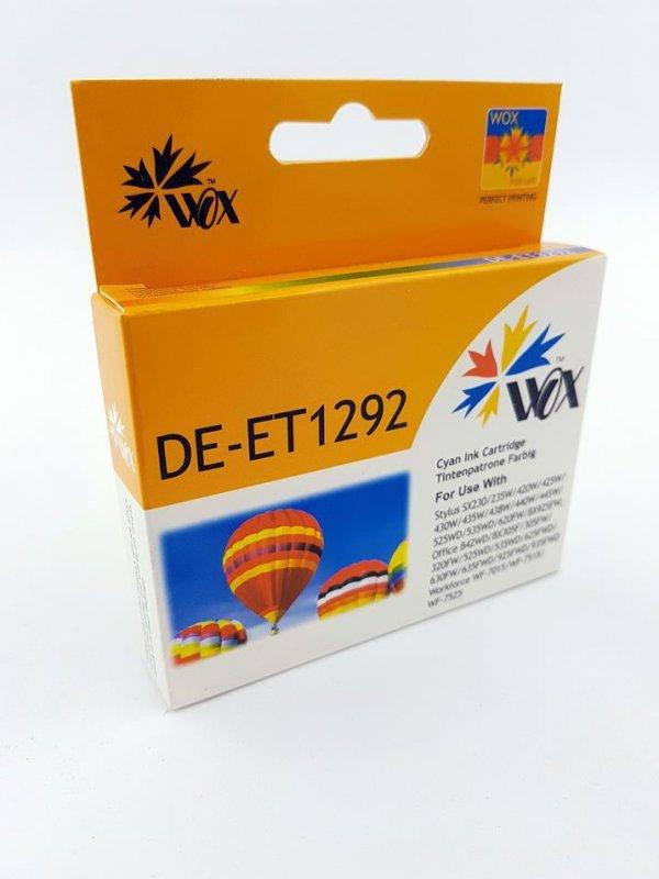 Tusz Wox Cyan EPSON T1292 zamiennik C13T12924010