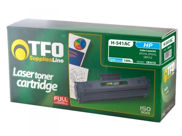 Toner TFO H-541AC zamiennik HP 125A Cyan CB541A