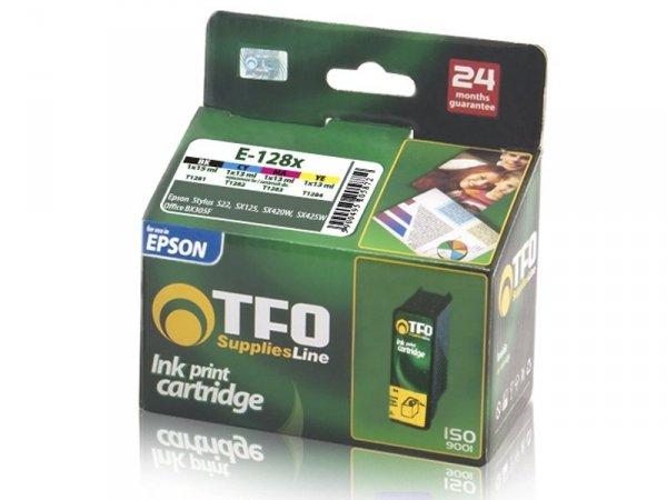 4-Pack Tuszy TFO E-128x (E-1281, 2, 3, 4) zamienniki do Epson T1285 Multipack (T1281, T1282, T1283, T1284)