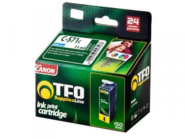 Tusz TFO C-571CXL zamiennik do Canon CLI571 Cyan XL