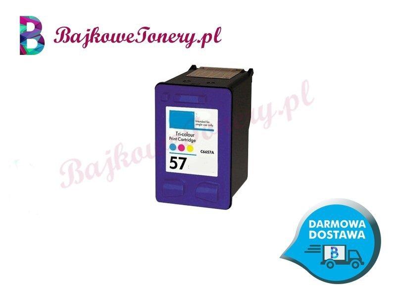 HP 57 KOLOR C6657AE Zabrze www.bajkowetonery.pl