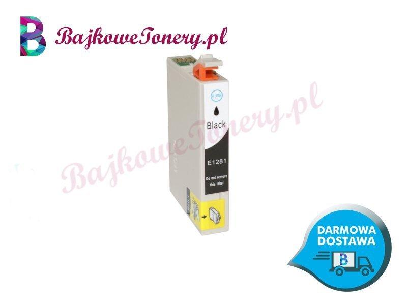 Tusz Epson T1281 Black Czarny Zabrze www.BajkoweTonery.pl