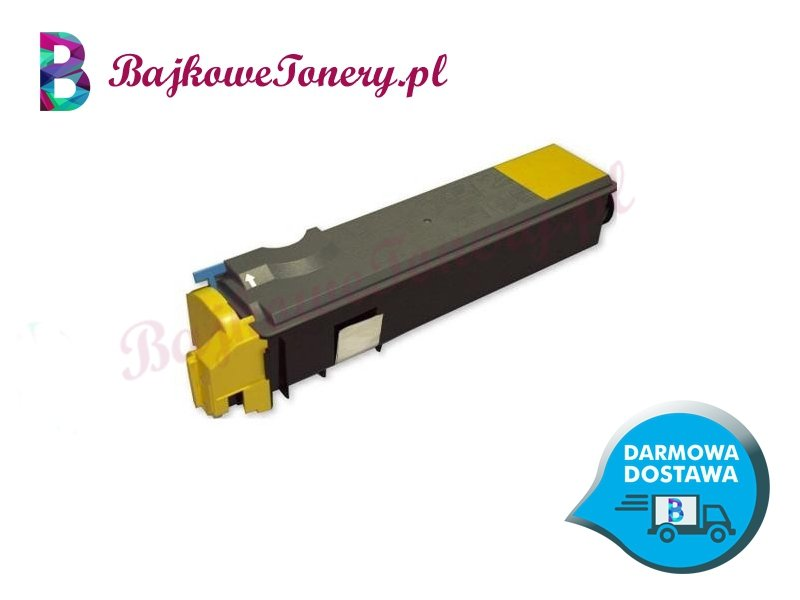 Toner Kyocera TK-520Y Zabrze www.BajkoweTonery.pl
