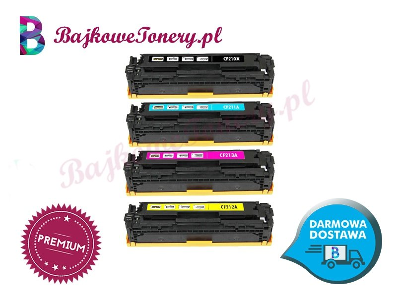 HP CF210X zabrze www.bajkowetonery.pl