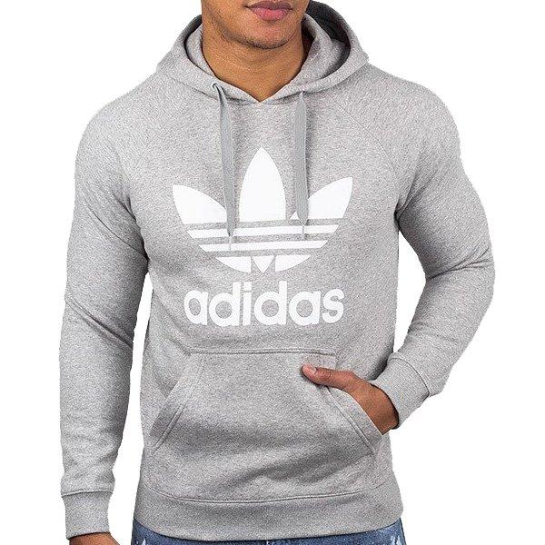 adidas bluza szara