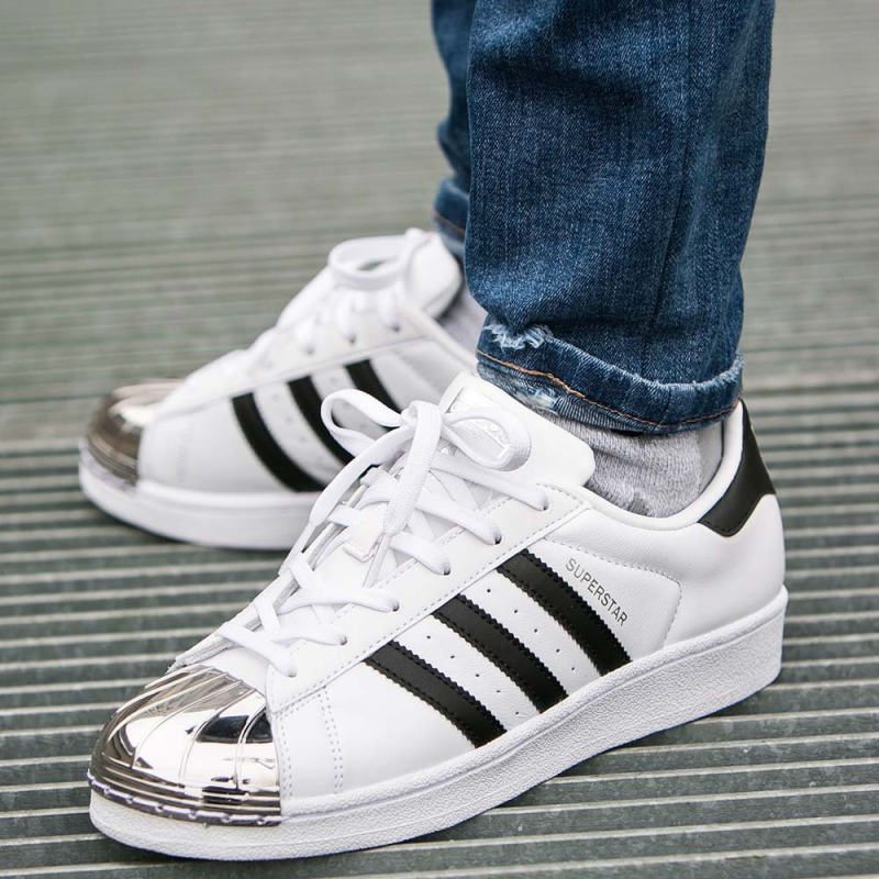 BUTY DAMSKIE ADIDAS SUPERSTAR METAL TOE BB5114
