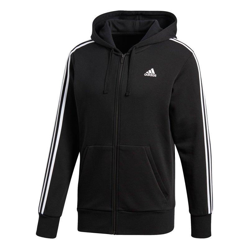 Adidas bluza męska Essentials 3 Stripes Full Zip Hoodie S98786