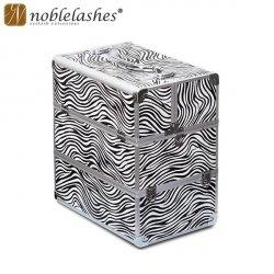 Kuferek kosmetyczny Zebra