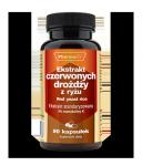 Ekstrakt czerwonych drożdży z ryżu - 90 kaps. 4% monakoliny K Pharmovit