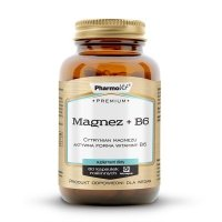 Magnez + B6Cytrynian magnezu 60kaps wege Pharmovit