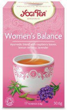 YOGI TEA bio herbata dla kobiet RÓWNOWAGA 17szt