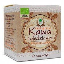 KAWA ŻOŁĘDZIÓWKA ROZPUSZCZALNA W SASZETKACH BEZGLUTENOWA BIO 70 g (10 x 7 g) - DARY NATURY