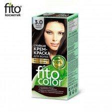 FITOCOLOR farba do włosów 3.0 CIEMNY KASZTAN
