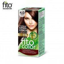 FITOCOLOR farba do włosów 4.0 KASZTAN