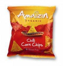 AMAIZIN bio chipsy bezglutenowe CHILLI 75g