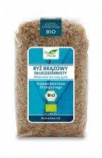 BIO PLANET bio ryż brązowy DŁUGOZIARNISTY 500g