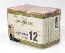SARYANE mydło oliwno-laurowe 12% ALEPPO 200g