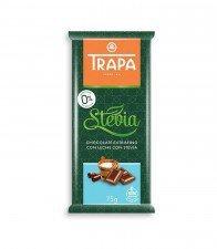 TRAPA bezglutenowa czekolada bez cukru MLECZNA 75g