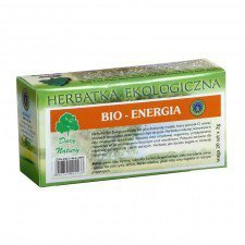 HERBATKA ENERGIA BIO (20 x 2 g) - DARY NATURY