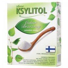SANTINI cukier brzozowy KSYLITOL 250g (FINLANDIA)