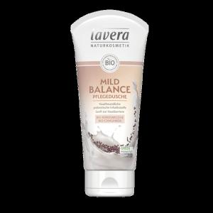 Pielęgnacyjny żel pod prysznic z bio-mlekiem kokosowym i bio-nasionami chia Lavera