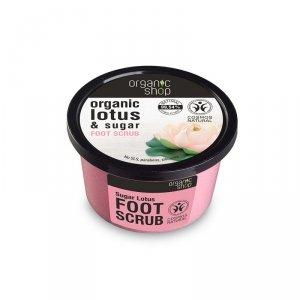 Peeling do stóp nawilżający Cukrowy Lotos 250 ml