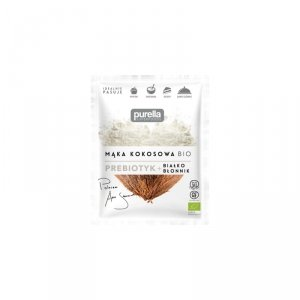 Mąka kokosowa BIO. Prebiotyk. Białko + Błonnik 150 g